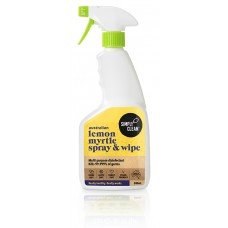 Lemon Myrtle Disinfectant Spray & Wipe  - 500mL